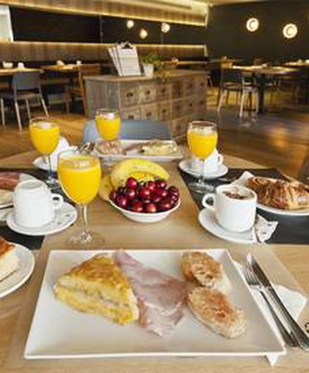 Cafeteria Hotel Dos Ríos Ainsa