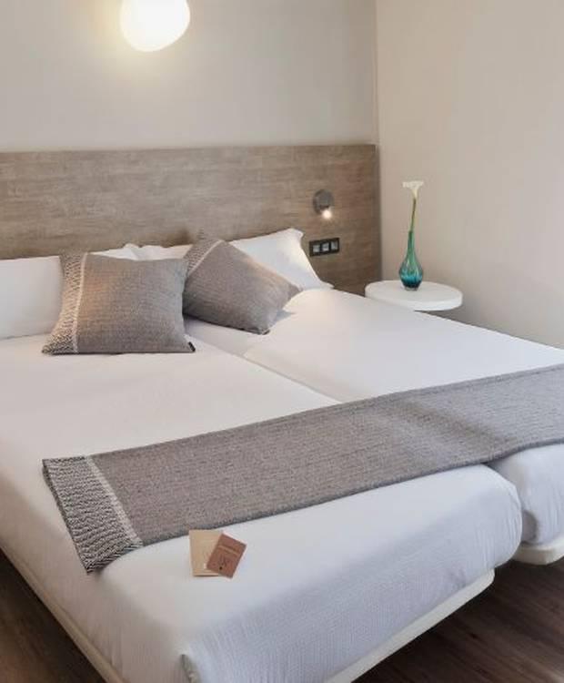 Habitación doble Hotel y Apartahotel Dos Ríos Ainsa
