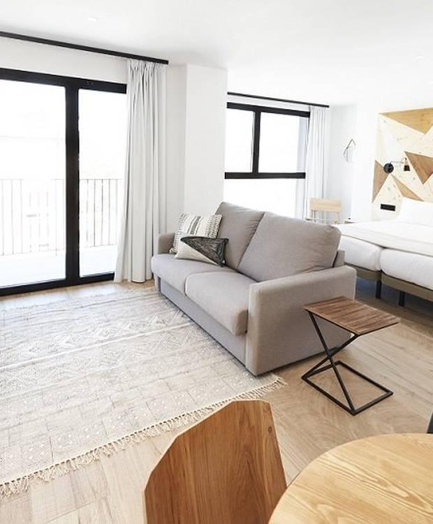 Habitación Apartamentos Hotel Dos Ríos Ainsa